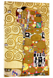 Acrylic print  The tree of life (fulfilment) - Gustav Klimt