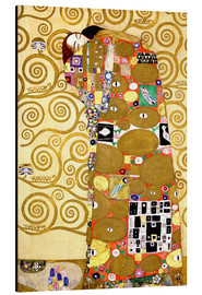 Aluminium print  The tree of life (fulfilment) - Gustav Klimt