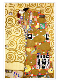 Poster The tree of life (fulfilment)