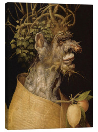 Canvas  Winter - Giuseppe Arcimboldo
