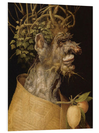 Foam board print  Winter - Giuseppe Arcimboldo