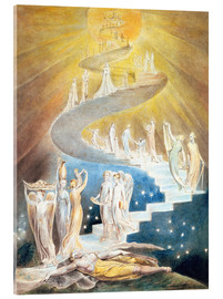 Acrylic print  Jacob's ladder - William Blake