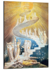 Aluminium print  Jacob's ladder - William Blake