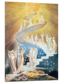 Foam board print  Jacob's ladder - William Blake
