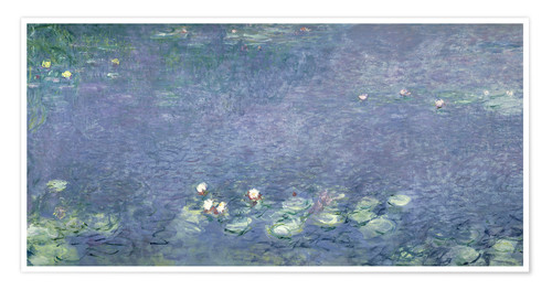 Premium poster Waterlilies: Morning