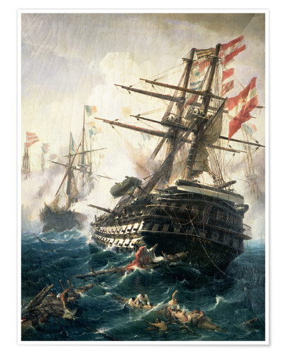 Premium poster The Battle of Lissa