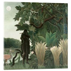 Acrylic glass  The snake charmer - Henri Rousseau