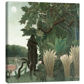 Canvas print  The snake charmer - Henri Rousseau