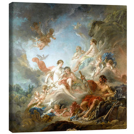 Canvas print  The Forge of Vulcan - François Boucher