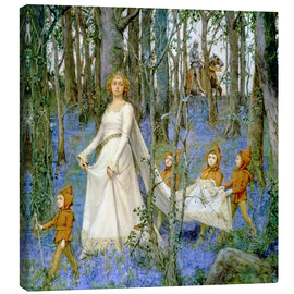 Canvas print  The Fairy Wood - Henry Meynell Rheam