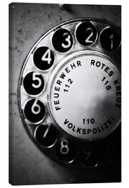 Canvas print  Telephone dial - Falko Follert