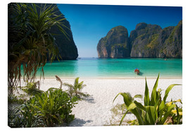 Canvas print  White beach in Thailand - Mayday74