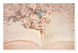 Poster  The old book - INA FineArt