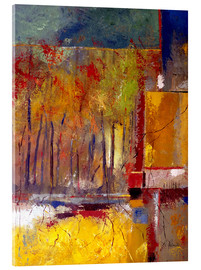 Acrylic print  Can't see the forest for the trees - Ruth Palmer