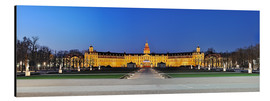 Alu-Dibond  Panoramic view of palace Karlsruhe Germany - Fine Art Images