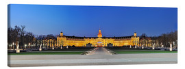 Canvas print  Panoramic view of palace Karlsruhe Germany - Fine Art Images