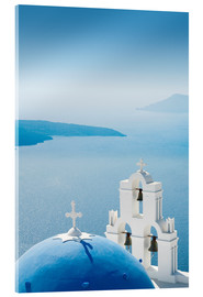 Acrylic print  Church Santorini Greece - Mayday74