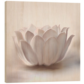 Wood  White lotus - Christine Ganz