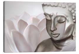 Canvas print  Buddha Lotus - Christine Ganz