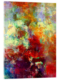 Acrylic print  Stained paint - Wolfgang Rieger