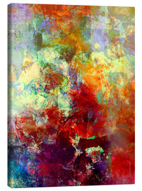 Canvas print  Stained paint - Wolfgang Rieger