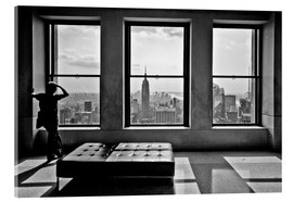 Acrylic print  New York, Top of the Rock - Thomas Splietker
