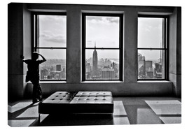 Canvas  New York, Top of the Rock - Thomas Splietker