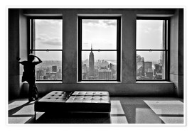 Poster  New York - Top of the Rock - Thomas Splietker