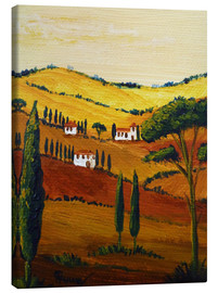 Canvas print  Tuscany Mini - Christine Huwer