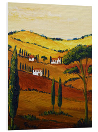 Foam board print  Tuscany Mini - Christine Huwer