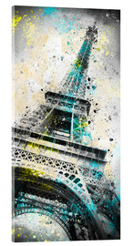 Acrylic print  City Art PARIS Eiffeltower IV - Melanie Viola