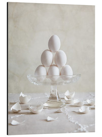 Aluminium print  Still Life with Eggs - Nailia Schwarz
