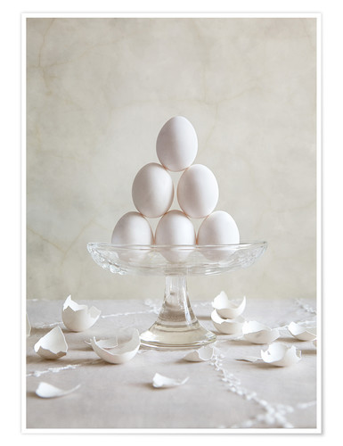 Premium poster Still Life with Eggs