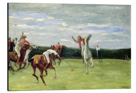 Aluminium print  Polo players in Jenischpark - Max Liebermann
