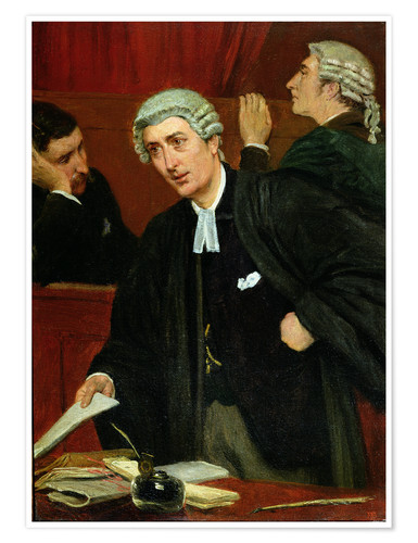 Premium poster The Barrister