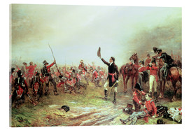 Acrylic print  The Battle of Waterloo - Robert Alexander Hillingford