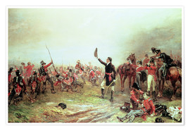 Premium poster The Battle of Waterloo