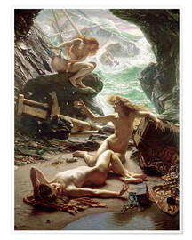 Premium poster  The Cave of the Storm Nymphs - Sir Edward John Poynter