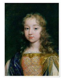 Premium poster Louis XIV as a child