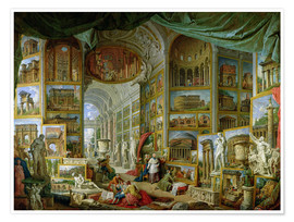 Premium poster Gallery of Views of Ancient Rome