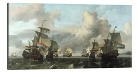 Aluminium print  The Dutch Fleet of the India Company - Ludolf Backhuysen