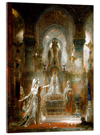 Acrylic print  Salome dancing before Herod - Gustave Moreau