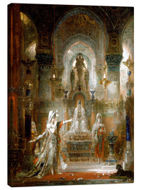 Canvas print  Salome dancing before Herod - Gustave Moreau