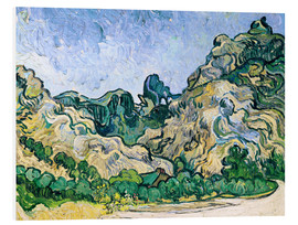 Foam board print  The Alpilles - Vincent van Gogh