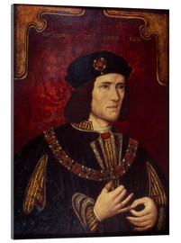 Acrylic print  King Richard III. - English School