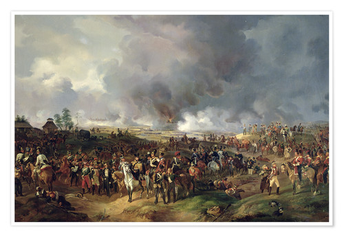 Premium poster The Battle of Leipzig