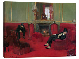 Canvas print  The Club - Jean Beraud