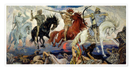 Premium poster  The Four Horsemen of the Apocalypse - Victor Mikhailovich Vasnetsov