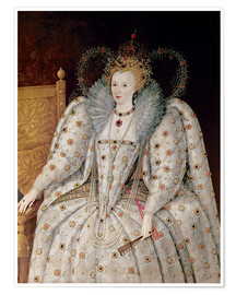 Premium poster Queen Elizabeth I of England and Ireland