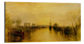 Aluminium print  Chichester Canal - Joseph Mallord William Turner